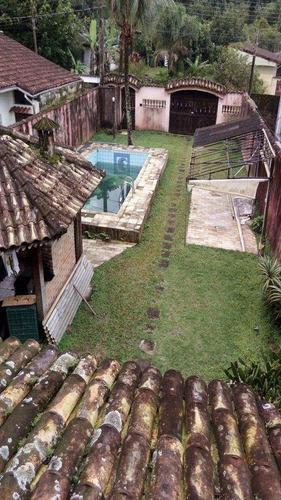 sobrado em mongaguá bairro jardim aguapeu - v470