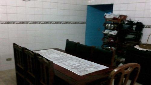 sobrado em mongaguá bairro vila vera cruz - v253