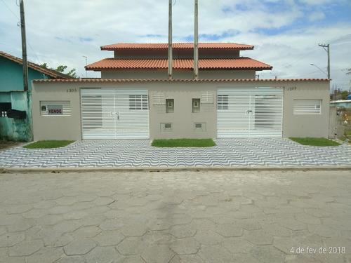 sobrado em mongaguá com 03 dormitórios  - n5957