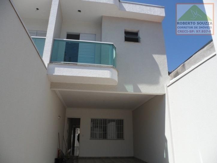 sobrado geminado para venda em são paulo, vila fernandes, 3 dormitórios, 1 suíte, 2 banheiros, 2 vagas - 00439