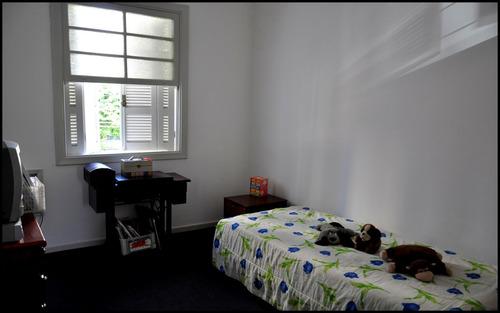 sobrado gonzaga 4 dorms 1 suite 2 gars quintal amplo