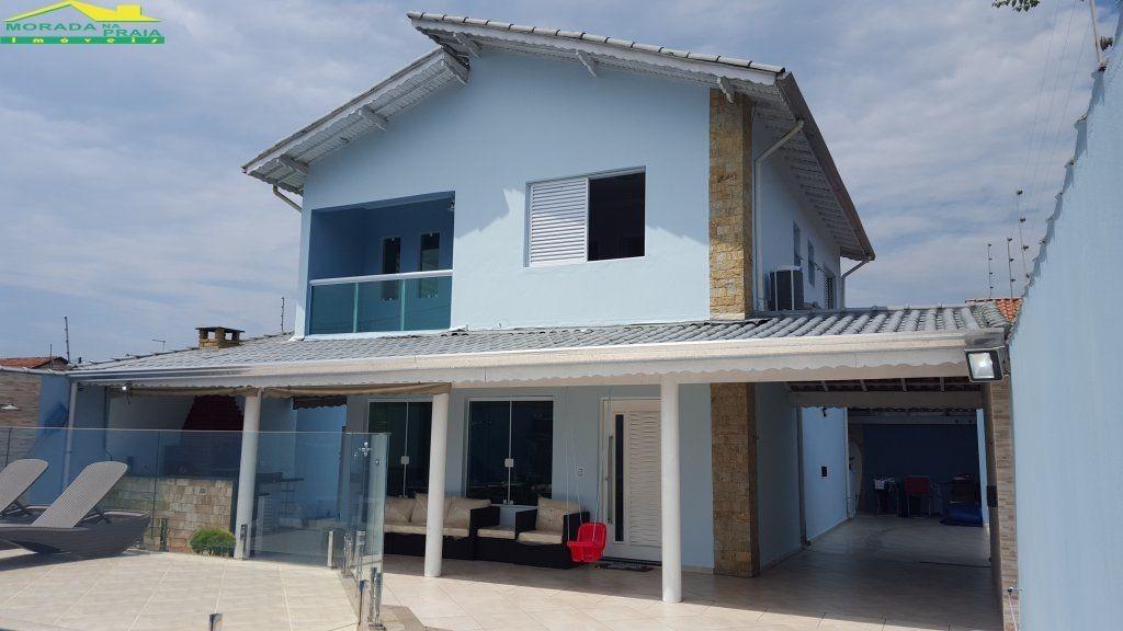 sobrado isolado 4 dormitórios, piscina, churrasqueira, confira na imobiliária em praia grande. - mp8618