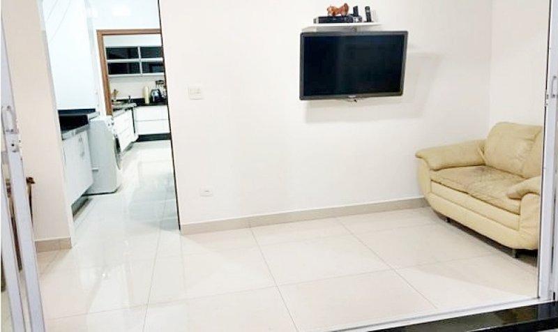 sobrado isolado - piscina - churrasqueira - 257 m² - boqueirão