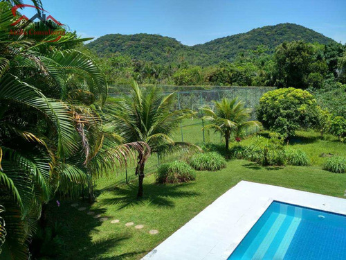 sobrado jardim acapulco, 6 suítes, campo de futebol - v698
