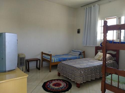sobrado lado praia com 3 quartos em itanhaém!