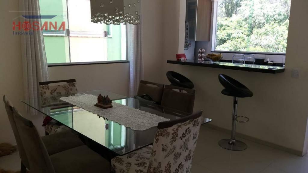sobrado mobiliado, com 2 dormitórios à venda, 100 m² por r$ 399.000 - morro grande - caieiras/sp - so0891