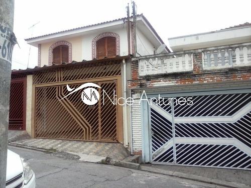 sobrado na vila mazzei com 3 dormitórios e 2 vagas. - na8364