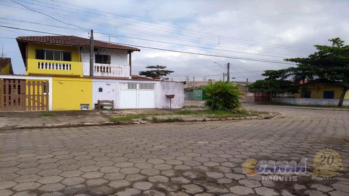 sobrado no balneário itaguaí - r$ 155 mil, cod: 7083 d