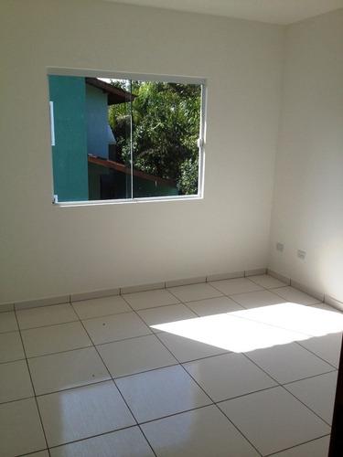 sobrado novo 02 quartos - condomínio fechado - itapoá sc