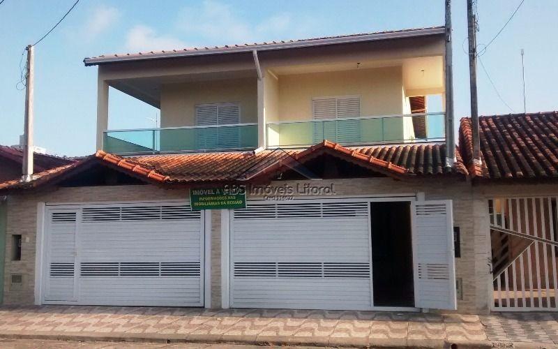 sobrado novo 3 dormitórios no maracanã em praia grande - sp