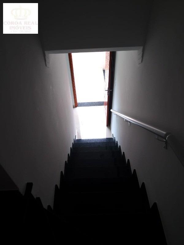 sobrado novo em condomínio fechado à venda na vila ré - ca00295 - 34453174