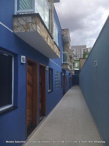 sobrado novo  vila antonieta 2 suites, 1 vaga- 320 mil