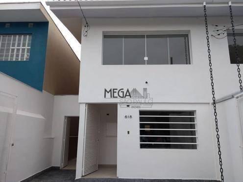 sobrado para alugar, 120 m² por r$ 7.000/mês - campo belo - são paulo/sp - so0022