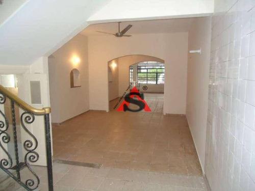 sobrado para alugar, 173 m² por r$ 14.000/mês - pinheiros - são paulo/sp - so4828