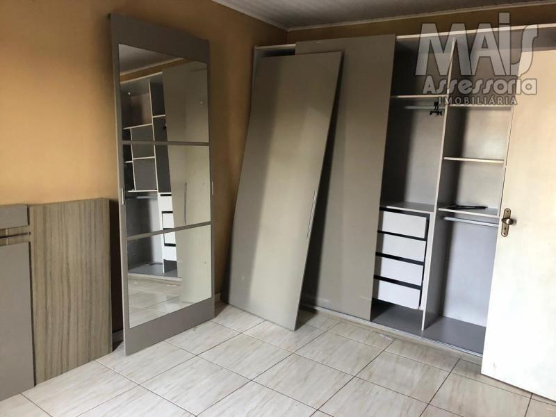 sobrado para locação em sapiranga, sete, 3 dormitórios, 2 banheiros, 1 vaga - sac0007