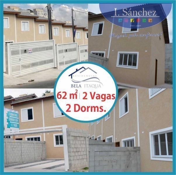 sobrado para venda em itaquaquecetuba, morro branco, 2 dormitórios, 2 banheiros, 2 vagas - 180528_1-908681