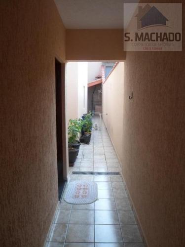 sobrado para venda em santo andré, parque novo oratório, 4 dormitórios, 1 suíte, 2 banheiros, 4 vagas - ve1189