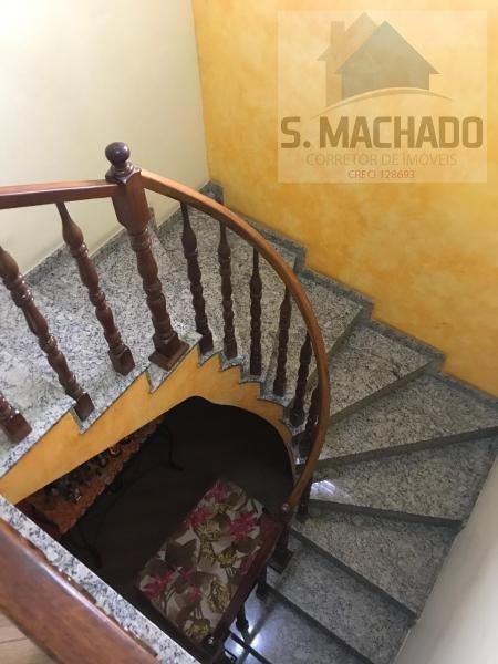 sobrado para venda em santo andré, parque oratório, 4 dormitórios, 2 suítes, 3 banheiros, 4 vagas - ve1333