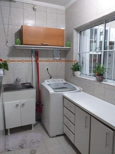 sobrado para venda em são paulo, jardim marabá, 3 dormitórios, 1 suíte, 2 banheiros, 2 vagas - sb0909