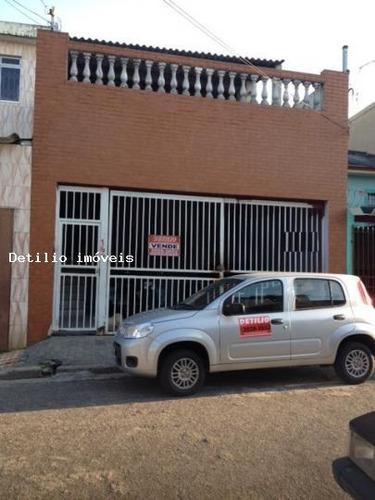 sobrado para venda em são paulo, vila diva, 2 dormitórios, 1 suíte, 2 banheiros, 2 vagas - sob0818