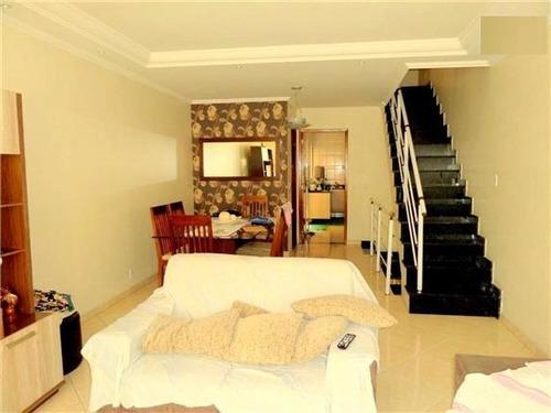 sobrado parque são lucas 1 suítes 3 dormitórios 2 banheiros 2 vagas 120 m2 - 2055