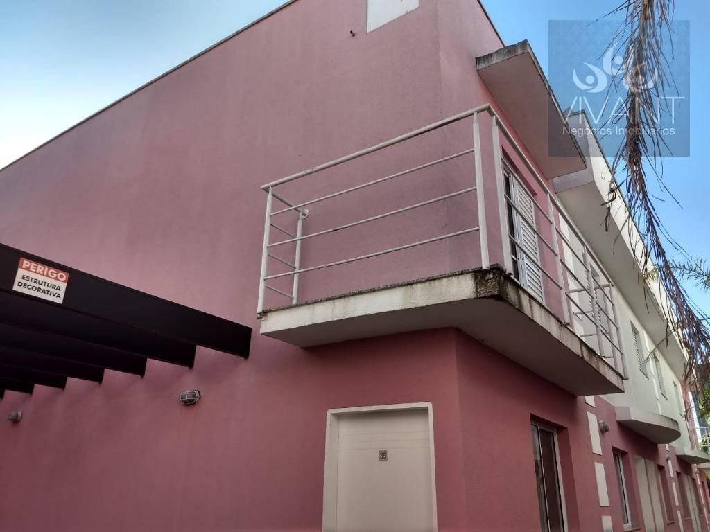 sobrado perto da estação de jundiapeba e do veran à venda, 71 m² por r$ 200.000 - jundiapeba - mogi das cruzes/sp - so0163