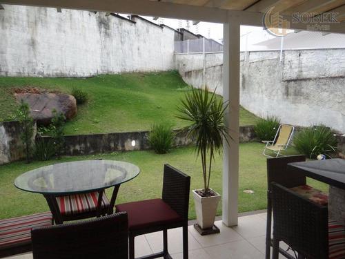sobrado residencial para venda e locação, jardim monte verde, valinhos. - so0072