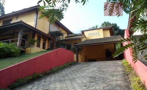 sobrado residencial para venda e locação, parque das artes, embu das artes - so0170. - so0170
