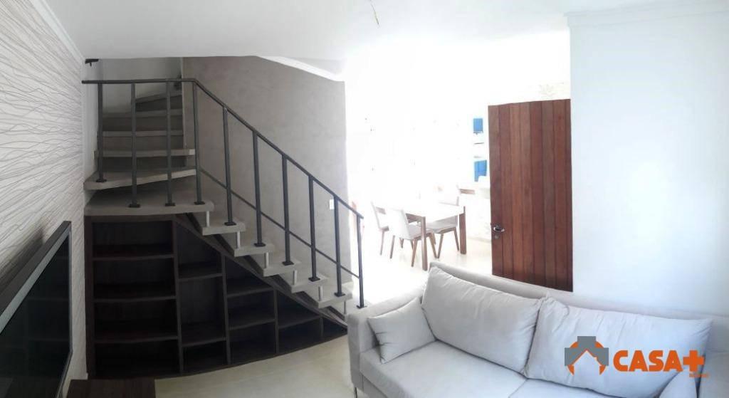 sobrado residencial à venda, 3dorm, quintal amplo, 2 vgs garagem. pq. monjolo. cotia. - so0179