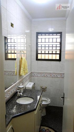 sobrado residencial à venda, água rasa, são paulo - so1170. - so1170