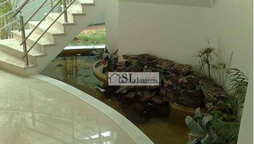 sobrado residencial à venda, alphaville dom pedro, campinas - so0133. - so0133