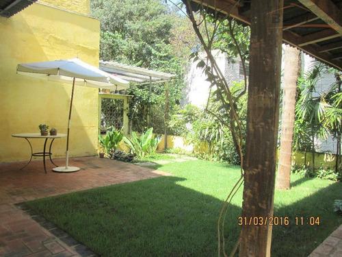 sobrado residencial à venda, alto de pinheiros, são paulo - so1288. - so1288