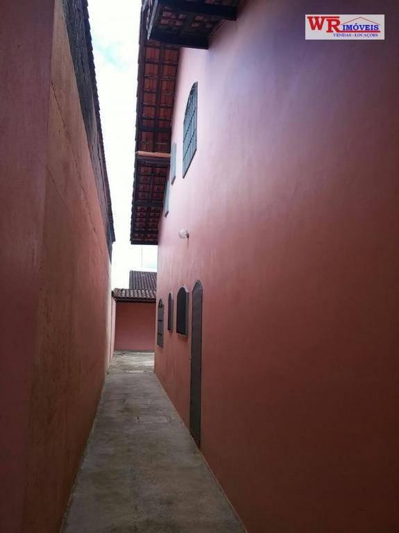sobrado residencial à venda, balneário itaguaí, mongaguá. - so0401