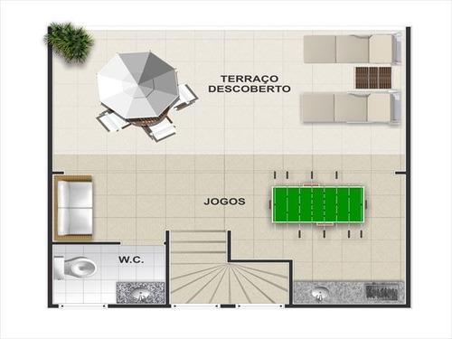 sobrado residencial à venda, campo da aviação, praia grande - so0329. - codigo: ca1038 - ca1038