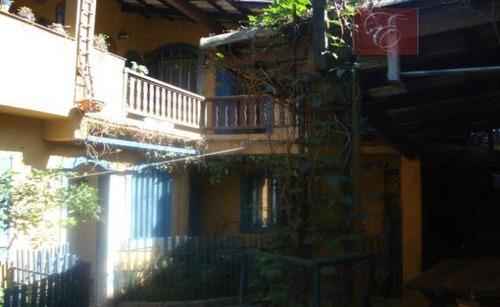 sobrado  residencial à venda, chácara do refúgio, carapicuíba. - so2473