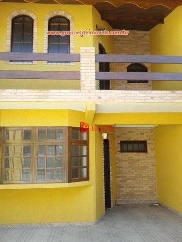 sobrado residencial à venda com 3 quartos, conjunto habitacional da policia militar, são josé dos campos. - so0448