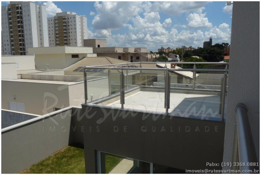 sobrado residencial à venda, condomínio athenas, paulínia. - ca2826