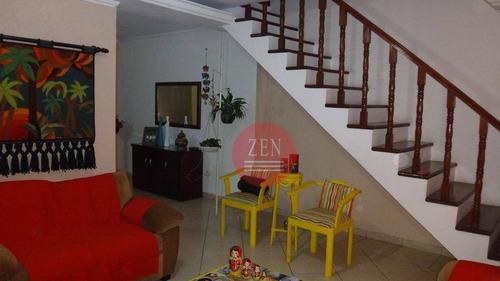 sobrado residencial à venda, conjunto residencial josé bonifácio, são paulo. - so9487