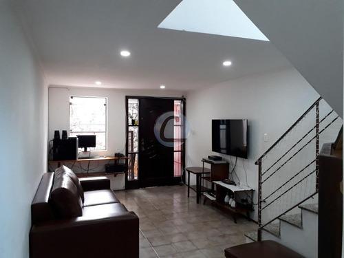 sobrado residencial à venda, conjunto residencial jussara, são bernardo do campo. - so0274
