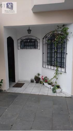 sobrado  residencial à venda, jardim das maravilhas, santo andré. - so0800