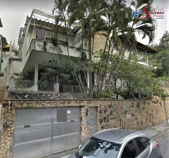 sobrado residencial à venda, jardim guanabara, ilha do governador, rio de janeiro. - so1099