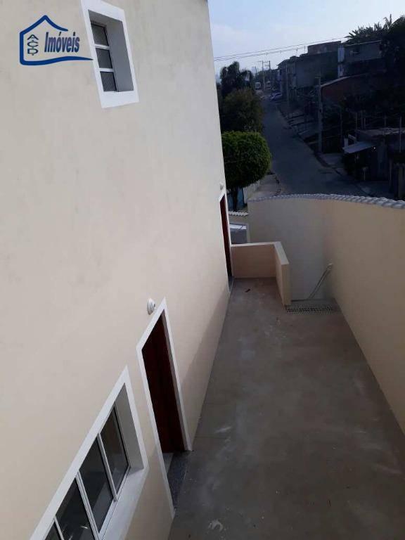 sobrado residencial à venda, jardim mônica, itaquaquecetuba.