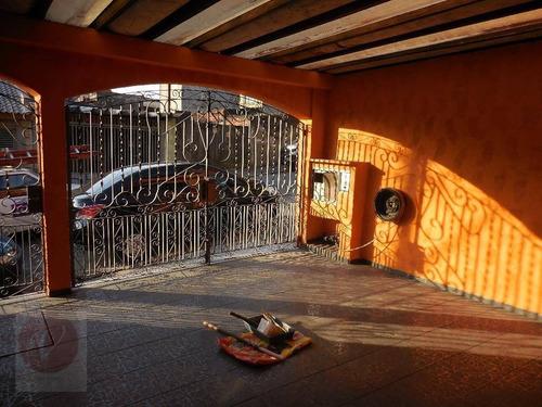 sobrado residencial à venda, jardim santo andré, santo andré. - so0235