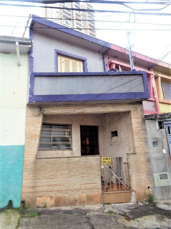 sobrado residencial à venda, mooca, são paulo. - so1275