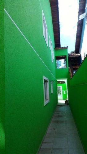 sobrado residencial à venda, parque flamengo, guarulhos. - so0352