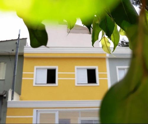 sobrado residencial à venda, parque jaçatuba, santo andré. - so0483