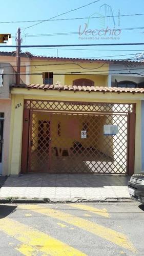sobrado residencial à venda, parque novo oratório, santo andré. - codigo: so0163 - so0163