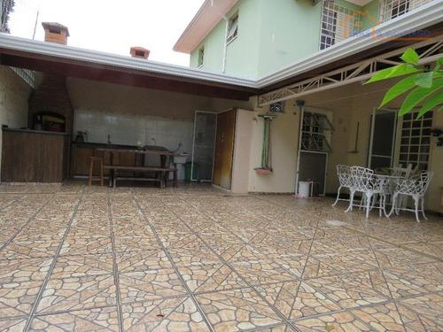 sobrado residencial à venda, parque villa flores, sumaré. - so0295