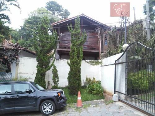 sobrado residencial à venda, via áppia, carapicuíba. - so3197