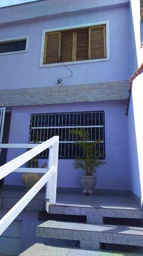 sobrado residencial à venda, vila camilópolis, santo andré. - so0314